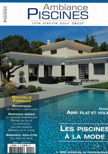 Ambiance piscines – Avril / Juin 2016