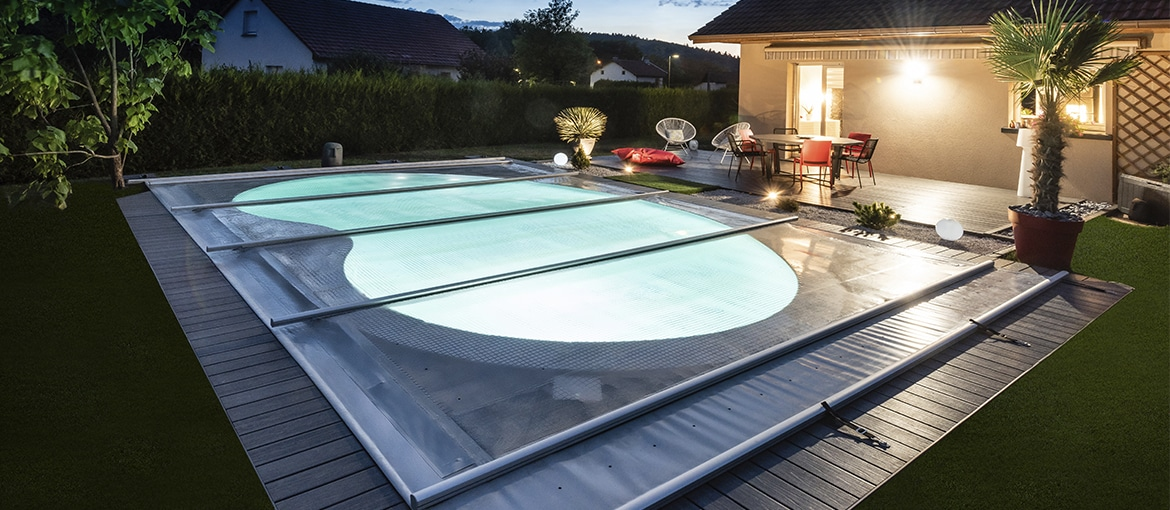 Couverture de piscine solaire solae waterair - Ideal protection piscine ...